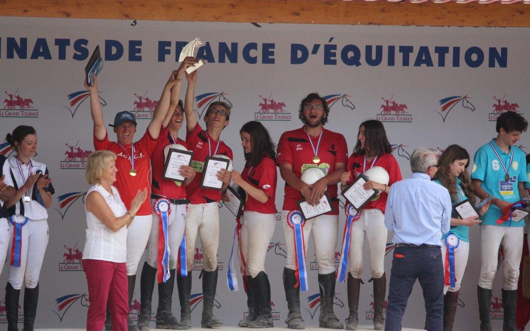 Champs Forts d'or et de bronze….Championnats de France 2018