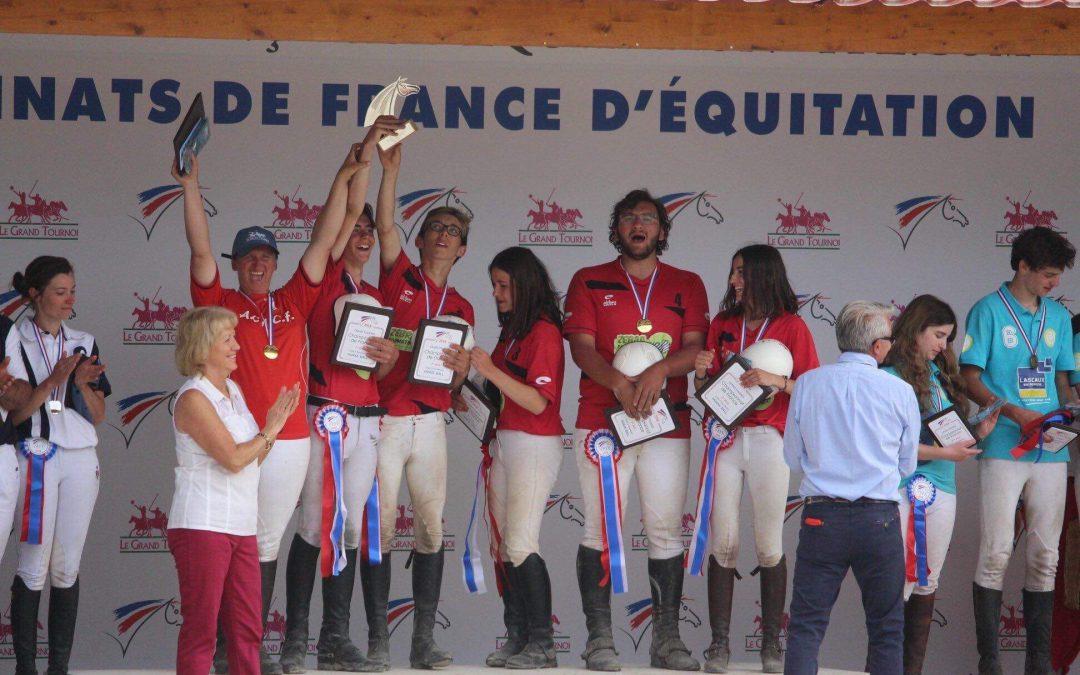 Champs Forts d'or et de bronze….Championnats de France 2018