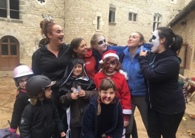 hallowen famille champs forts indre